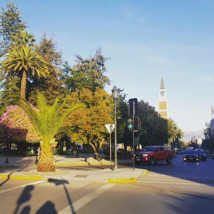 Centro de la Ciudad de Talca. Chile.