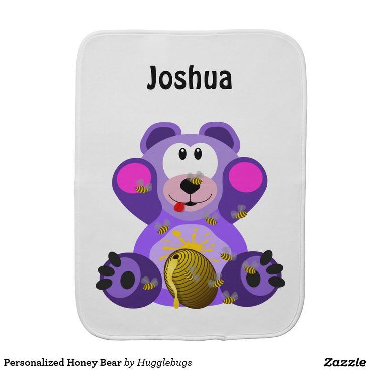 Personalized Honey Bear