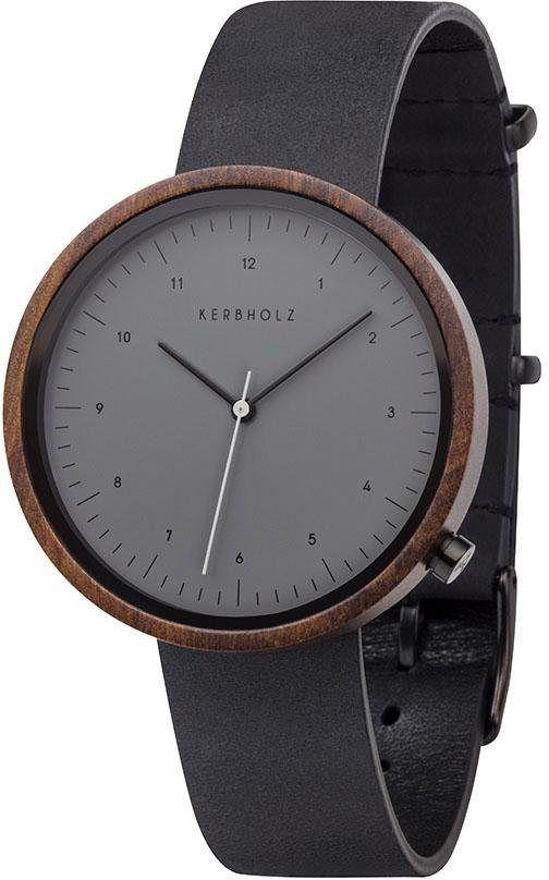 Walnut »wilma Fashion Black«Produktkatalog Kerbholz Quarzuhr Aq3LRj54
