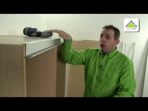 Cómo instalar puertas correderas de armario (Leroy Merlin) - YouTube