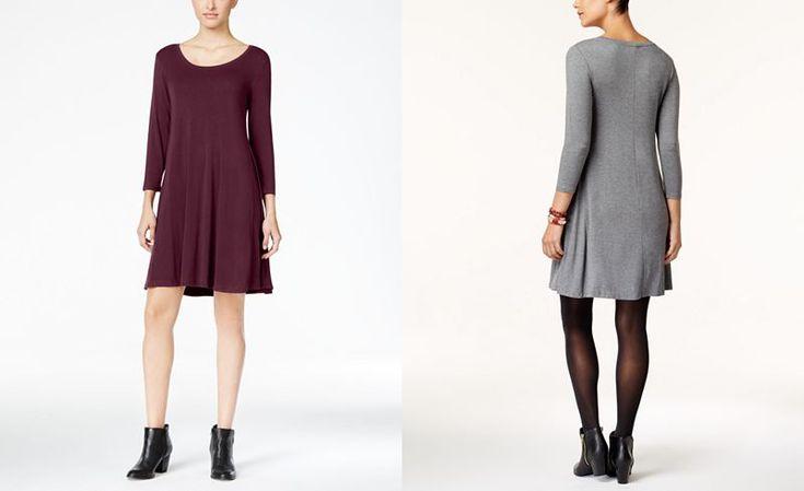 Style & Co Swing Dress, Created for Macy's - Dresses - Women - Macy's