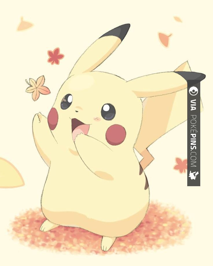 Fall is finally here! Spend it with your favorite Pokemon :P