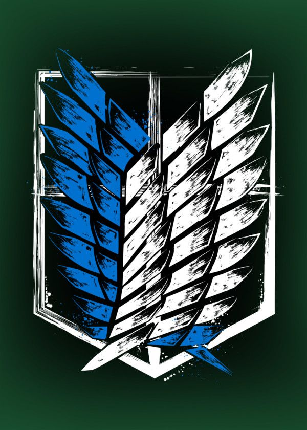 Wings of Freedom Poster Attack on Titan iphone case
