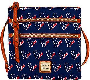 Dooney & Bourke NFL Texans Triple Zip Crossbody