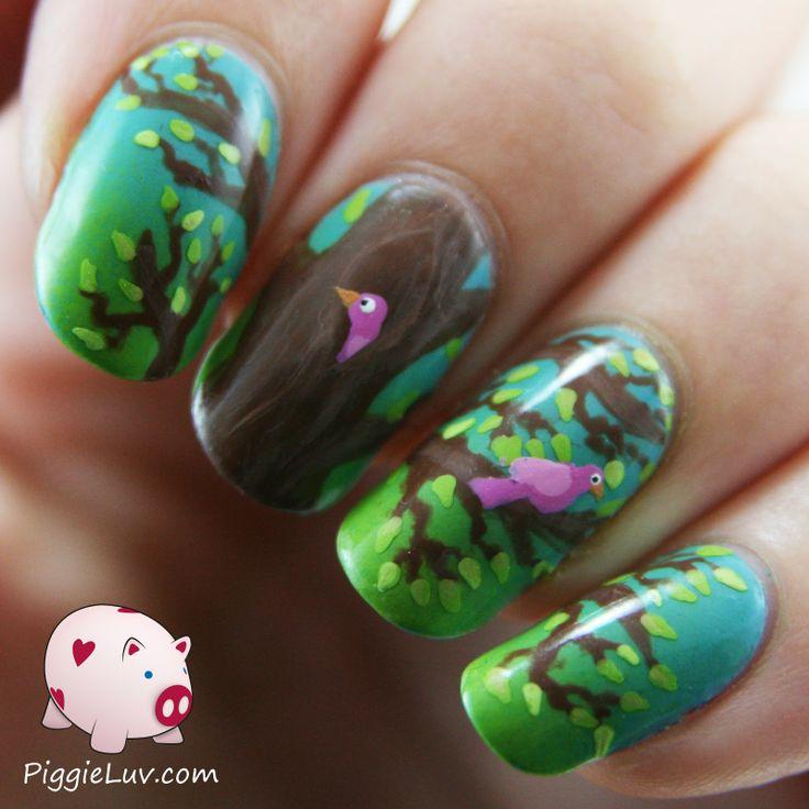 Mejores 3532 imágenes de Nail Art en Pinterest | Uñas bonitas ...