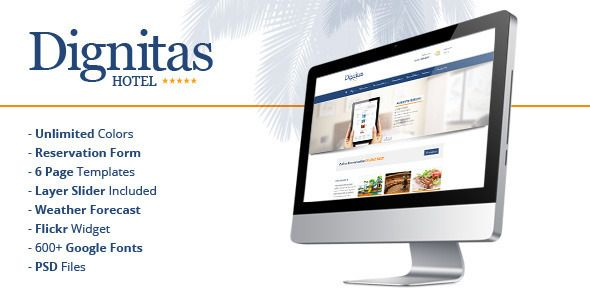 Dignitas v1.1.9 - Hotel & Apartment Responsive Theme