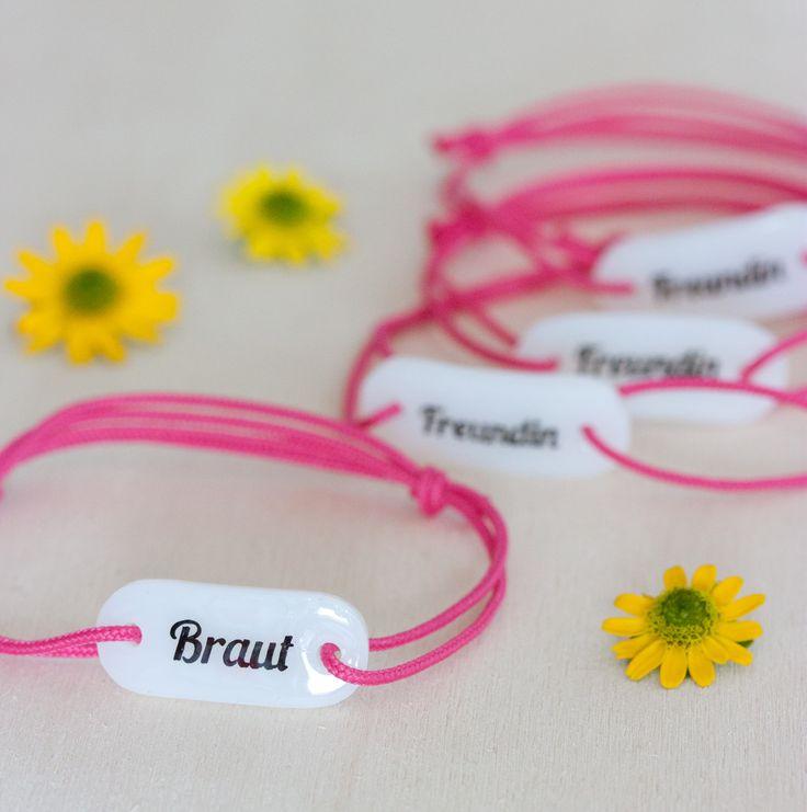 Bracelet perfect for Bachelorette Party / Größenverstellbares Armband, perfekt für den Jungesellinnenabschied von SchmuckGlück