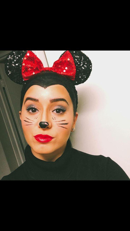 Mickey Maus Schminken