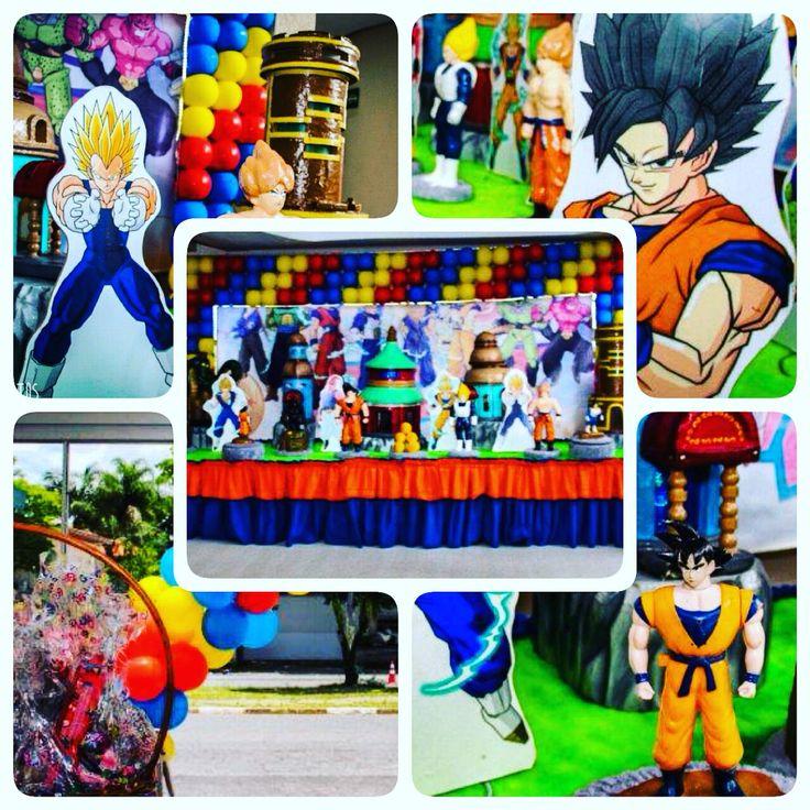 """""""A concentração é a raiz de todas as grandes habilidades do homem."""" (Bruce Lee) @baixinhasebaixinhosbuffet  #vickyphotos #festademenino #baixinhasebaixinhos #dragonball @deluca186 @vicky_photos_infantis https://www.facebook.com/vickyphotosinfantis http://websta.me/n/vicky_photos_infantis https://www.pinterest.com/vickydfay https://www.flickr.com/vickyphotosinfantis"""