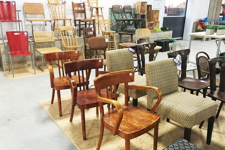 Kringloopwinkel het goed tweedehands stoelen