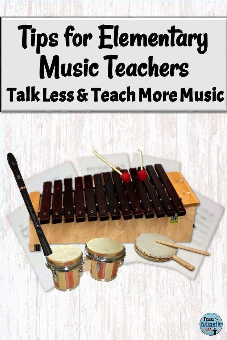 Talk Less and Teach More Music   Tips for K-5 Music Teachers   Frau Musik USA