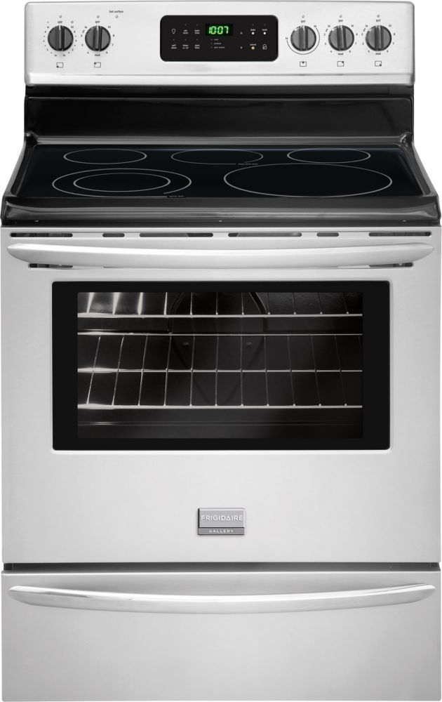 5.4 cu. ft. Electric Range in Stainless Steel