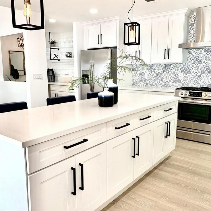 Real People Real Projects Kitchen Envy Contemporary Style Kitchen Floor Decor Modern Spanish Kitchen