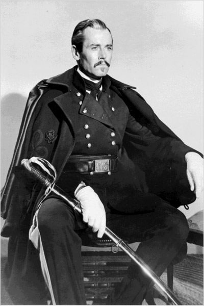 FORT APACHE (1948) - Henry Fonda as 'Colonel Owen Thursday' - Directed by John Ford - RKO-Radio Pictures - Publicity Still.