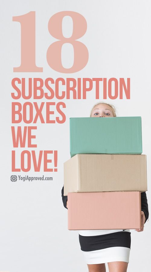 18 Subscription Boxes We Love