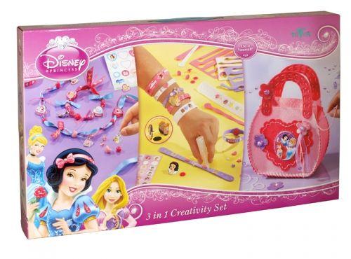 Disney princess 3 in 1 creativity set