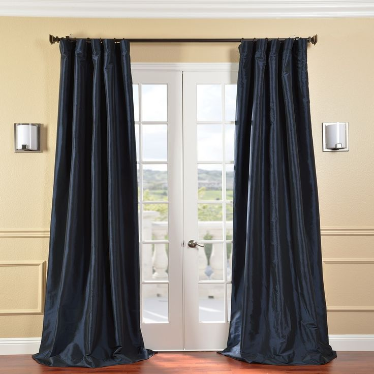 25+ best ideas about Navy blue curtains on Pinterest ...