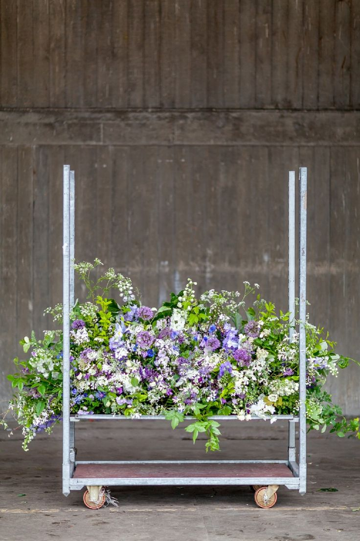 Covent garden flower market interior small 2 -  Covent Garden Flower Market See More Day 4 Of British Flowers Week 2016 Featuring A Mantelpiece On The Move Designed By