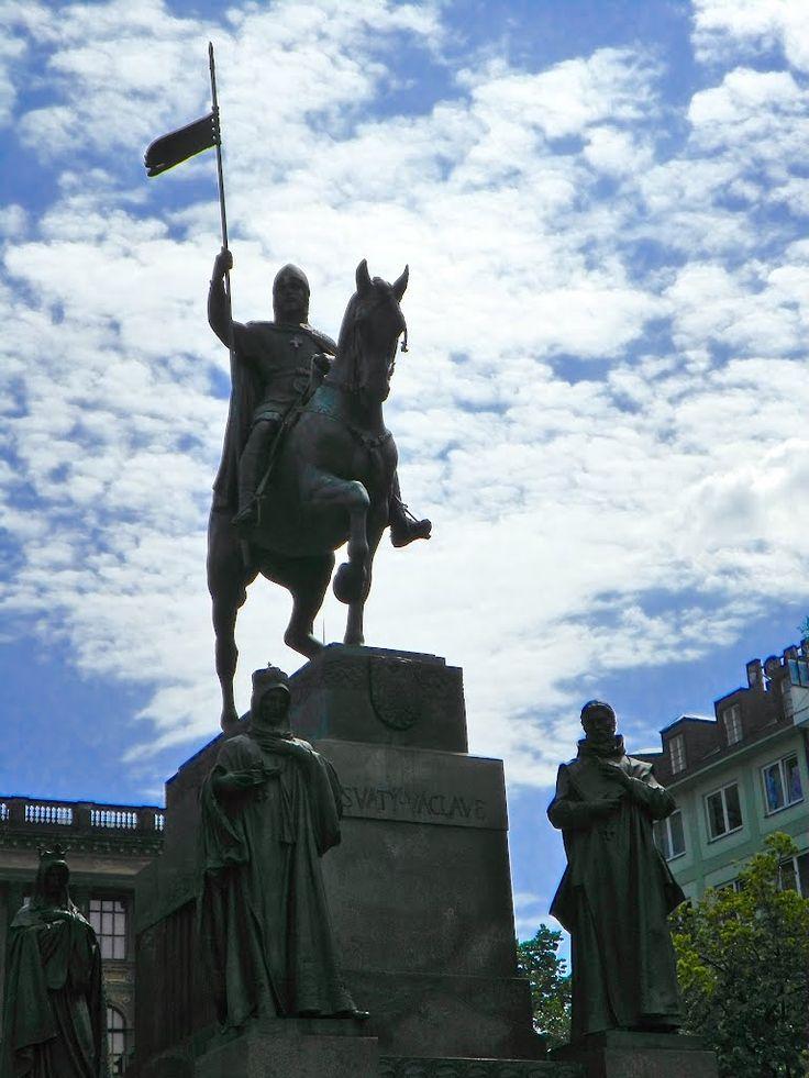 socha svatého Václava, Václavské náměstí, Praha
