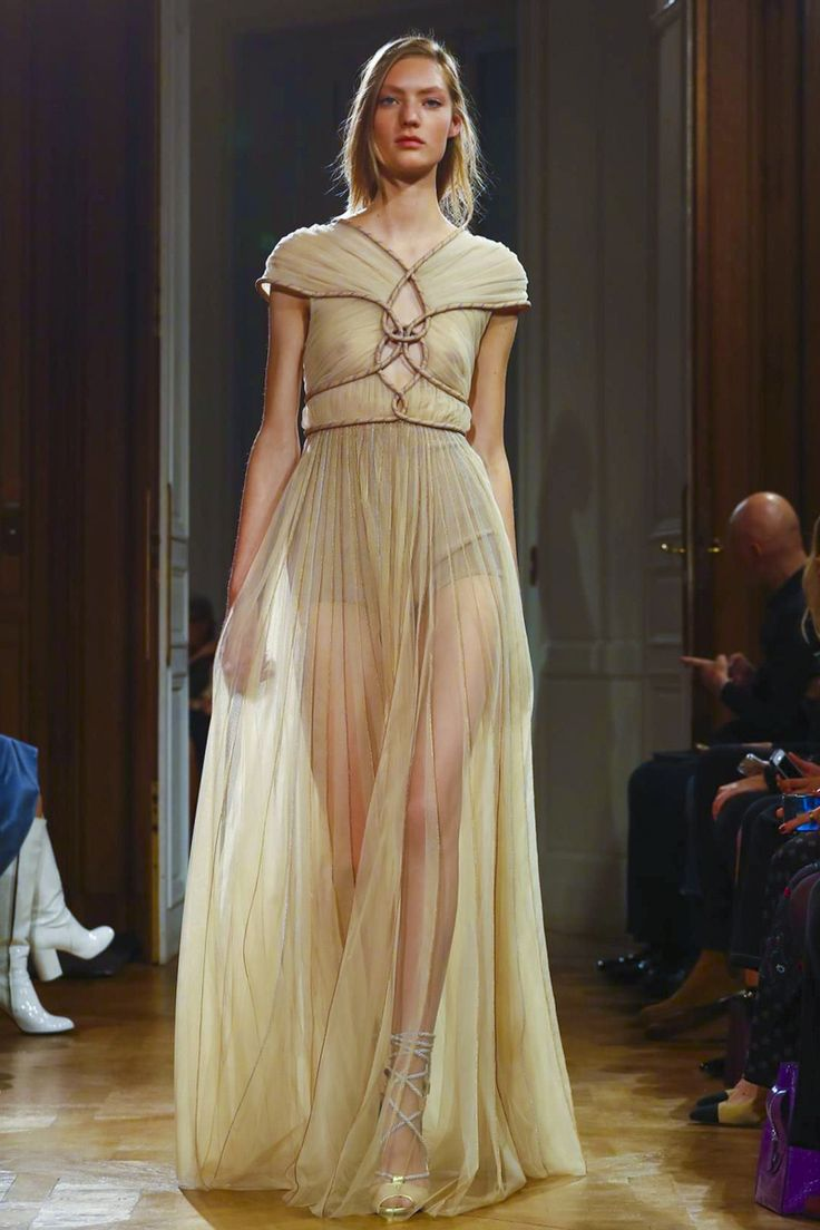 """Goga Ashkenazi wants you to take a closer look at the house ofVionnet. A much closer look. """"This is a photograph of the South of France,"""" she points out backstage, minus 25 minute..."""