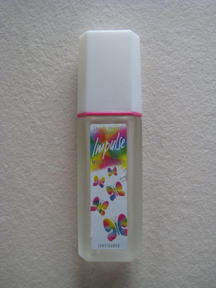Impulse Parfum Deodorant Mille Fleurs - Deo 80er Jahre