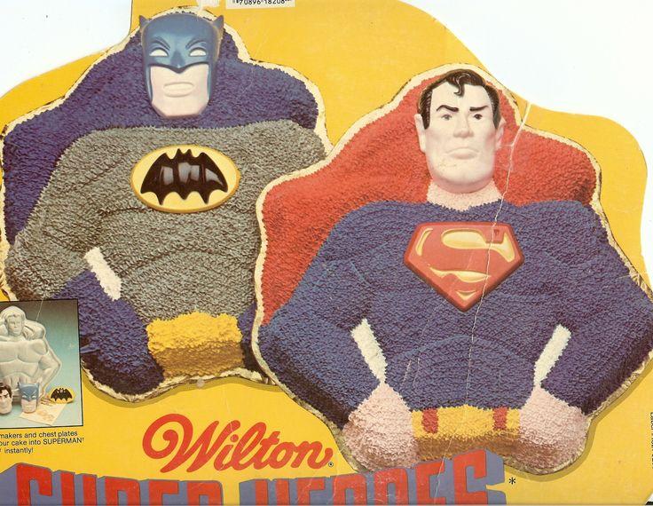 Wilton Batman Cake Pan Instructions