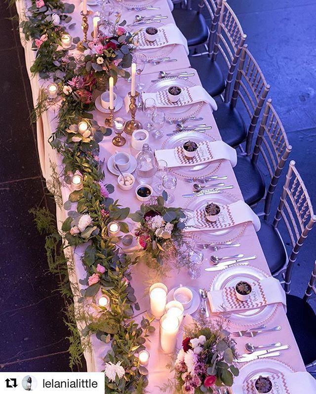 Head table heaven ❤️ #mikeandlelania2016  @sweetheartempire sweetheartempirephotography