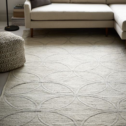 Leaf Tile Braided Jute Rug West Elm Maybe Use The Runner