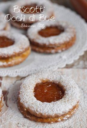 Biscotti Occhi Di Buericetta Biscotti Brioche E Piccola