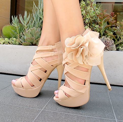 Love these! So girly, but not too crazy! Hot High Heels - HeelsFans.com