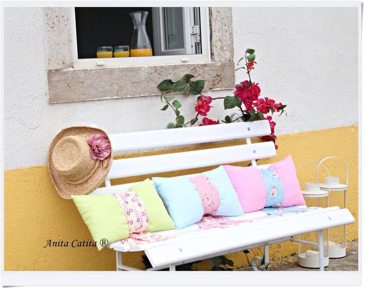 Garden, Pillow, Summer,  Almofada, Jardim, Verão