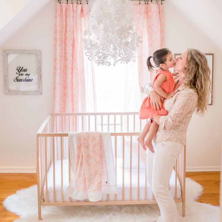Boho Blush Nursery Soft and sophisticated peach and ivory white to create the perfect baby girl nursery!