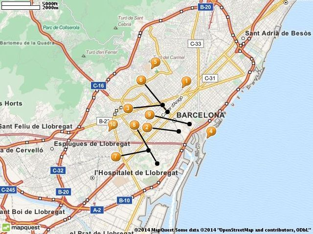 barcelona map tourist attractions barcelona tourist attractions guide for backpacker include barcelona map tourist attractions barcelona
