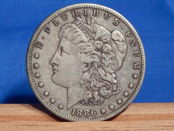 1886 S San Francisco Morgan Silver Dollar by RascalsRarities
