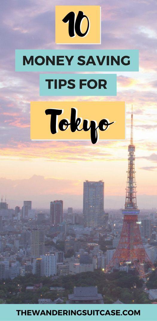 traveling on a budget in Tokyo, #tokyo #japan #budget #moneysaving #traveltips #budgettravel