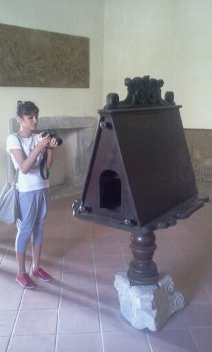 Un bel leggio #invasionidigitali Palazzo Rinascimentale Aieta