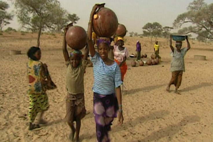 World Vision Australia - A heavy burden to carry: girls, water and schooling