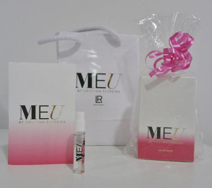 """Perfume """"MEU"""" da Cristina Ferreira a nossa embaixadora da LR"""