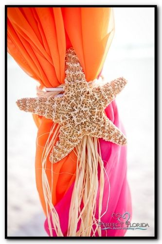 Florida Beach Wedding Tropical Decor