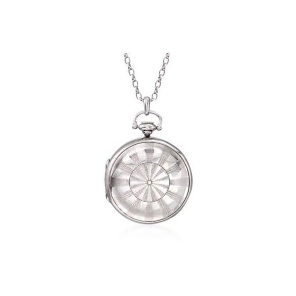 Monica Rich Kosann Monica Rich Kosaan Silver Dart Board Guilloche... ($895) ❤ liked on Polyvore featuring jewelry, necklaces, sterling silver, cable chain necklace, silver jewellery, pocket watches, locket necklace and antique silver necklace