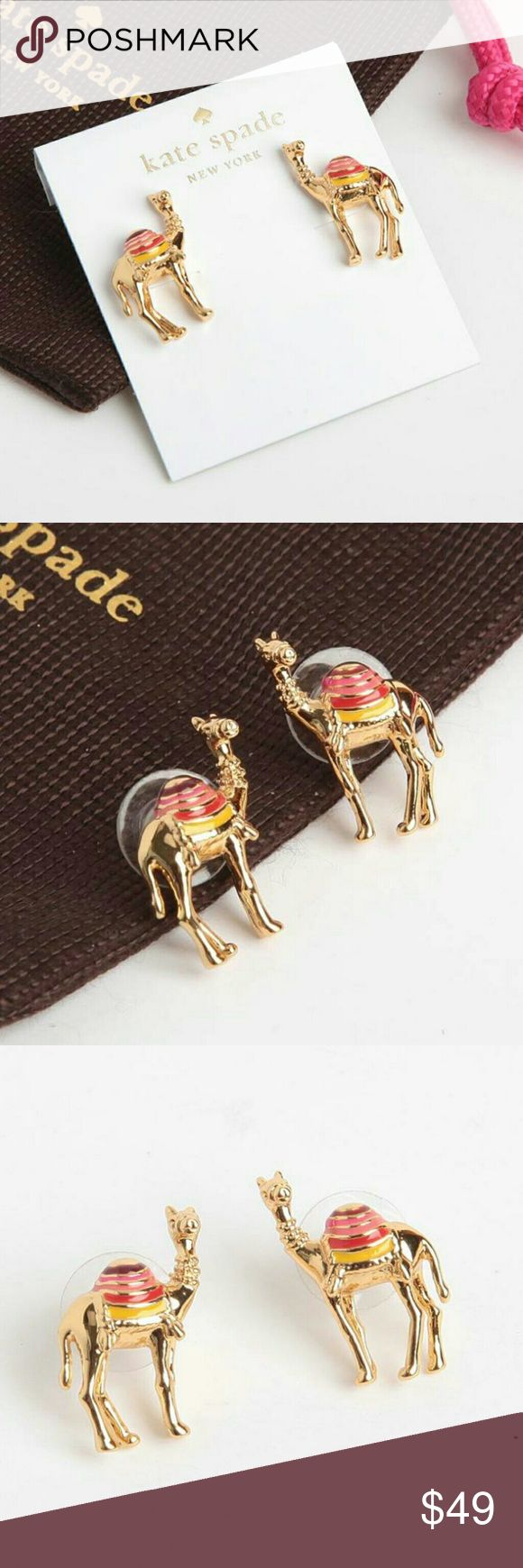 Authentic Kate spade Camel earrings New Kate spade  Jewelry Earrings