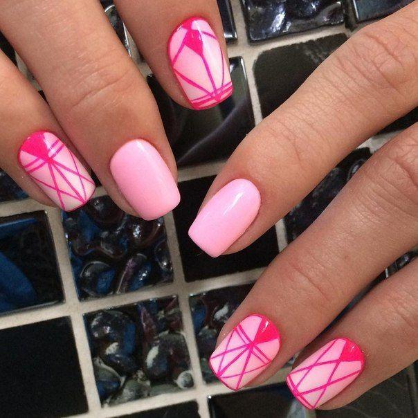 Под розовые ногти какое платье