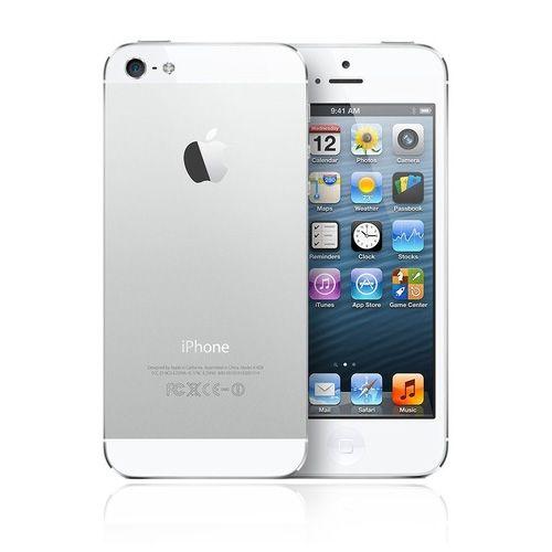 iPhone 5 weiß / silber