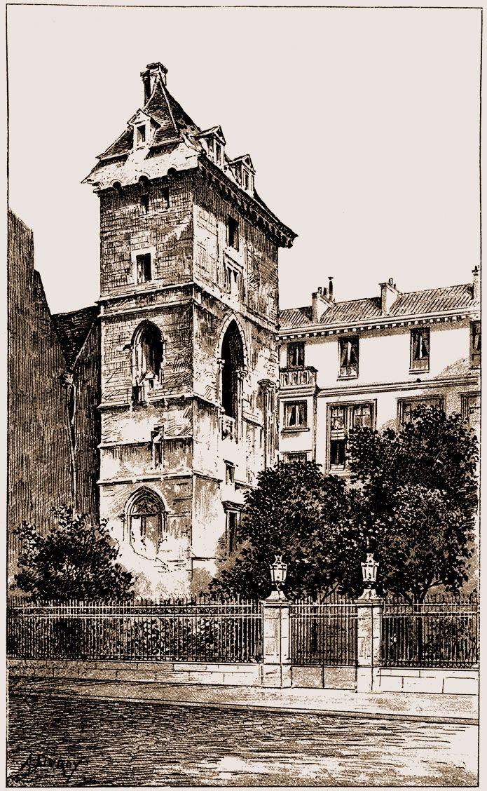 Tour de Jean-sans-Peur, près des Halles - Rue Etienne-Marcel - Paris 2e