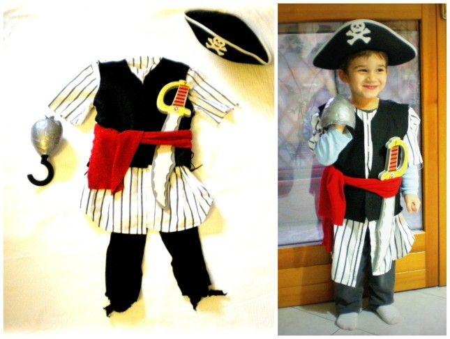 costume pirata+giochi x festa a tema pirati