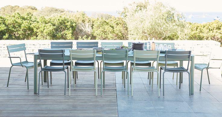 Chaise Luxembourg, chaise de jardin métal