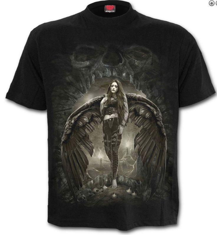 Dark angel - T-shirt homme gothique - Spiral