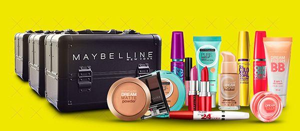 Cute Fashion Rock: Como ganhar uma maleta de maquiagem recheada da Ma...