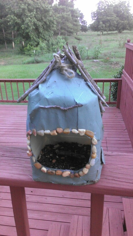 How to Build a Milk Jug Bird Feeder: 12 Steps (with Pictures)   Milk Gallon Bird Feeder