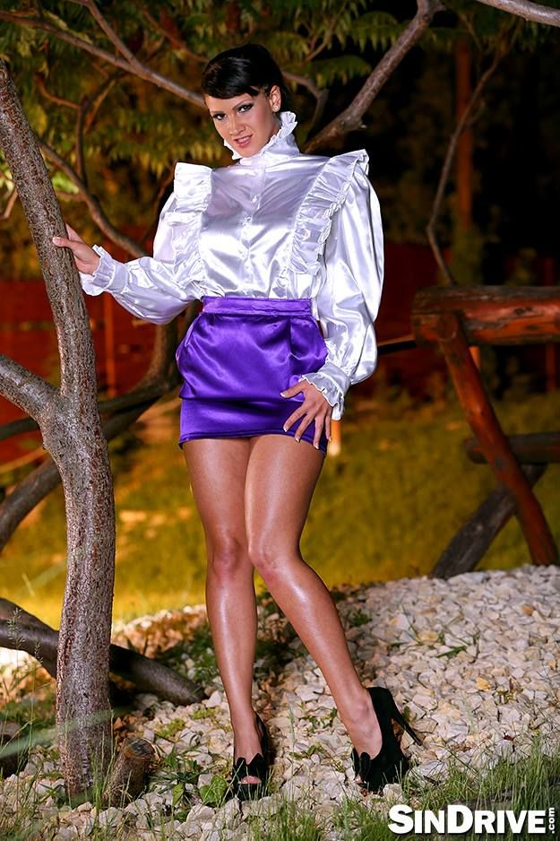 2274 Best Images About Satin Blouse On Pinterest Ruffle